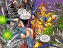 Technomatra (Earth-95431) and Kevin Green (Earth-95431) from Phoenix Resurrection Aftermath Vol 1 1.jpg