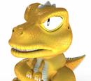 Personagens praticantes de auto-defesa de dragão