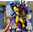 Henry Pym (Earth-616) working with Nathaniel Richards (Immortus) (Earth-6311) from Avengers Forever Vol 1 8.jpg