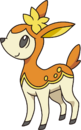 585Deerling BW anime-autumn.png