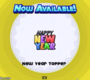 New Year Topper