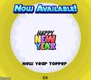 Galleta de Nuevo Año