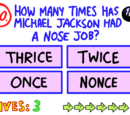 Question 90 (The Impossible Quiz)