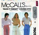McCall's 7607 A