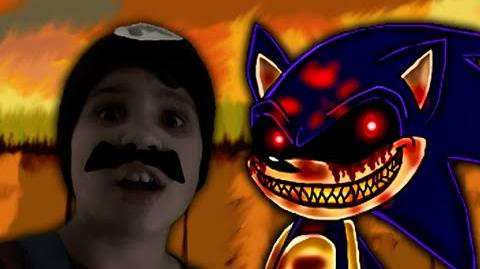 Sonic.EXE vs MARIO