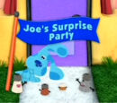Joe's Surprise Party