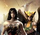 Mujer Maravilla y Chica Halcon: En la Oscuridad
