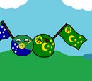 Cocos Islandsball
