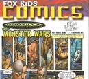 Fox Kids Magazine - Godzilla: The Series