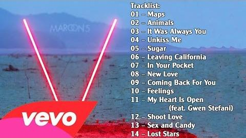 Maroon 5 – V album 2014 ( Full Album ) + Mp3 Download