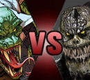 Killer Croc vs The Lizard