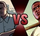 Franklin Clinton vs Carl Johnson