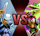 Sam & Max vs Team Chaotix