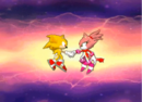 Sonic and Blaze We are friends.png
