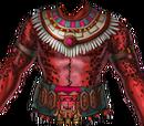 Red Jaguar Warrior's Chest