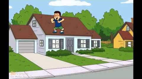 Eric Dances on the Roof and Gets Grounded