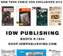 Gcheung28/IDW 2014 Exclusives at NYCC