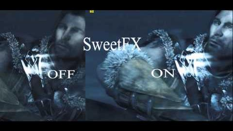 SweetFX enabled in - Middle Earth Shadow of Mordor - gameplay PC Win 8.1 Improved graphics mod