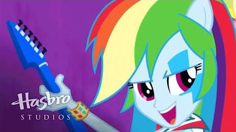 "MLP Equestria Girls - Rainbow Rocks SING-ALONG - ""Shake your Tail!"""