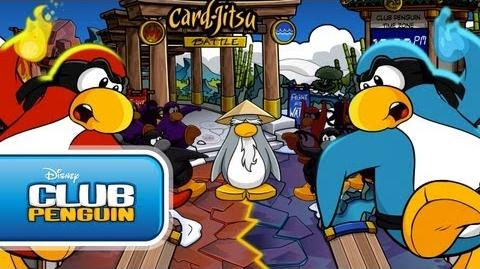 Card-Jitsu Party 2011 Official Trailer - Club Penguin
