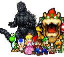 Godzilla VS Mario