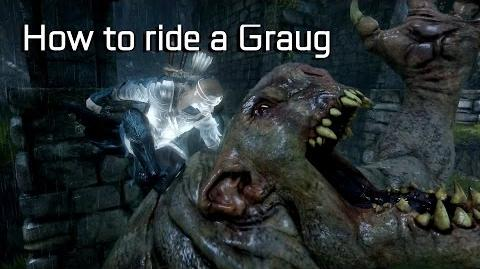 Shadow of Mordor How to ride a troll (Graug)