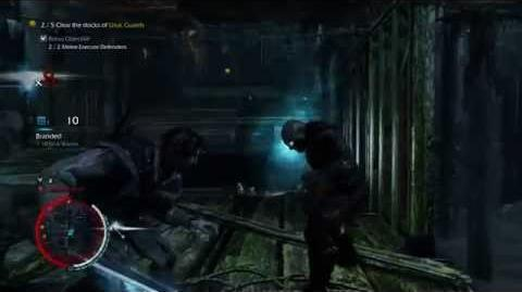 Middle-earth Shadow of Mordor - Sword Mission - Intense Combat - No Prompts