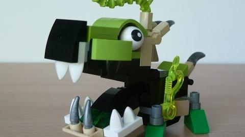 LEGO MIXELS GLURT and SCORPI MIX with Lego 41519 and Lego 41522 Mixels Serie 3