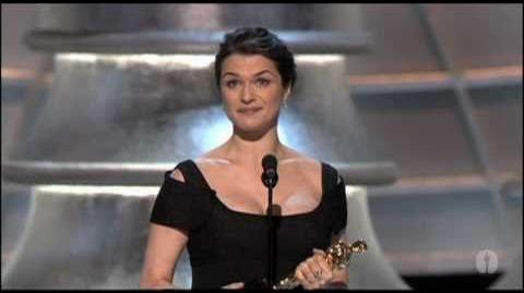 Rachel Weisz Wins Supporting Actress 2006 Oscars