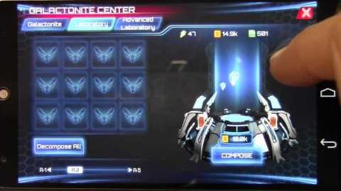 Galaxy Legend Galactonite Center Tutorial and Overview