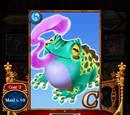 Blue Gobble Frog