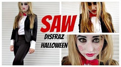 SAW - Disfraz Casero Para Halloween Sencillo y Rapido - DIY-1