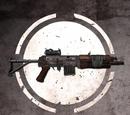 Штурмовая винтовка с оптическим прицелом