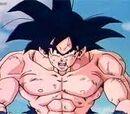 Goku avec des égratinures