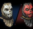 Жуткая маска