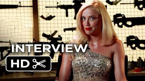Machete Kills Interview - Amber Heard (2013) - Jessica Alba Movie HD