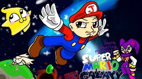 Super Mario Galaxy - Part 1 The night Miyamoto went nuts on the storyboard.-0