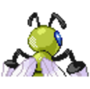 Beedrill RSE Shiny Back Sprite.png