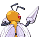 Beedrill DPPHGSS Back Sprite.png