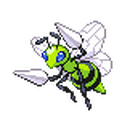 Beedrill HGSS Shiny Sprite.png