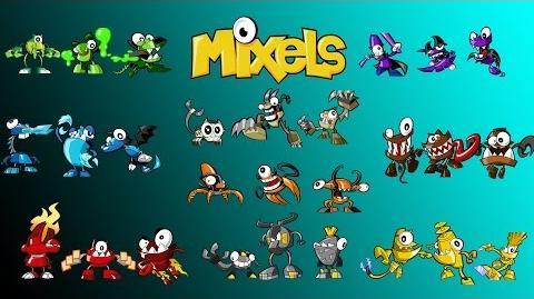Calling All Mixels/List of Cutscenes