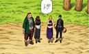 Choji, Ino Sai and Karui waiting their sons.png