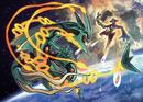 Artwork Mega-Rayquaza vs Deoxys.png