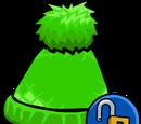 Green Pom Pom Toque