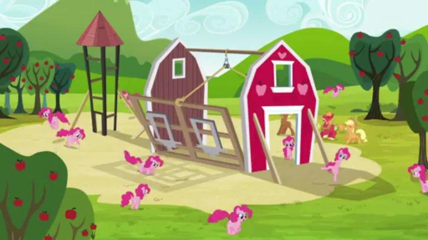 My Little Pony Sezon 3 Odcinek 3 Wszędzie Pinkie Pie Dubbing PL 720p