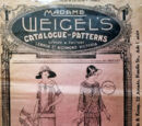 Madame Weigel's Catalogue of Patterns ca. 1924