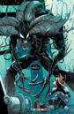 Groot (Earth-616) possessed by Venom (Symbiote) (Earth-616) from Guardians of the Galaxy Vol 3 21.jpg