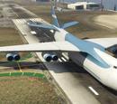 Frachtflugzeug (V)