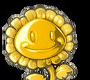 Goldene Sonnenblumen-Trophäe