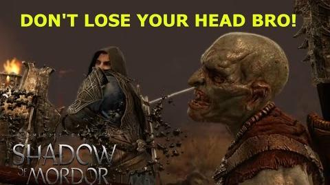 20 Slow Motion Orc Decapitations 2 Bloody epic!! - Shadow of Mordor HD Gameplay
